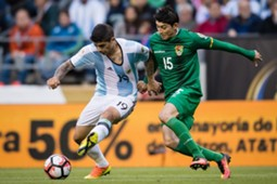 Pedro Azogue, Bolivia vs. Argentina