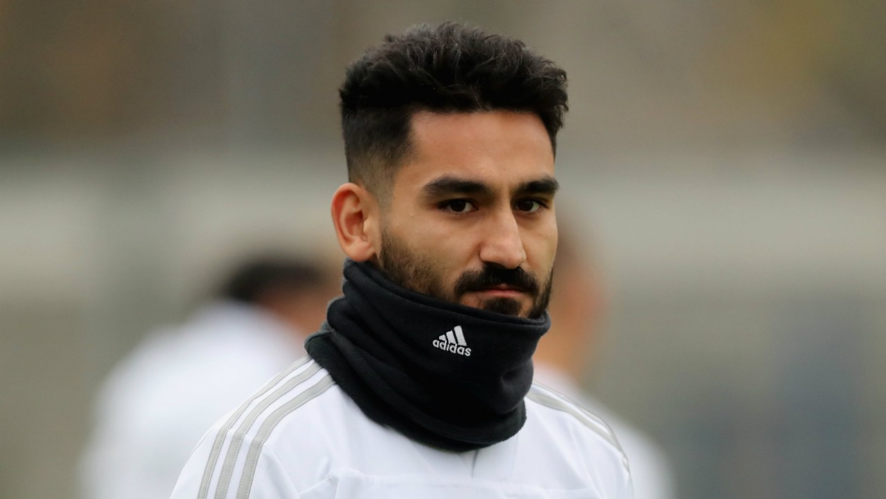 England v Germany Ilkay Gundogan happy to be in squad for Wembley
