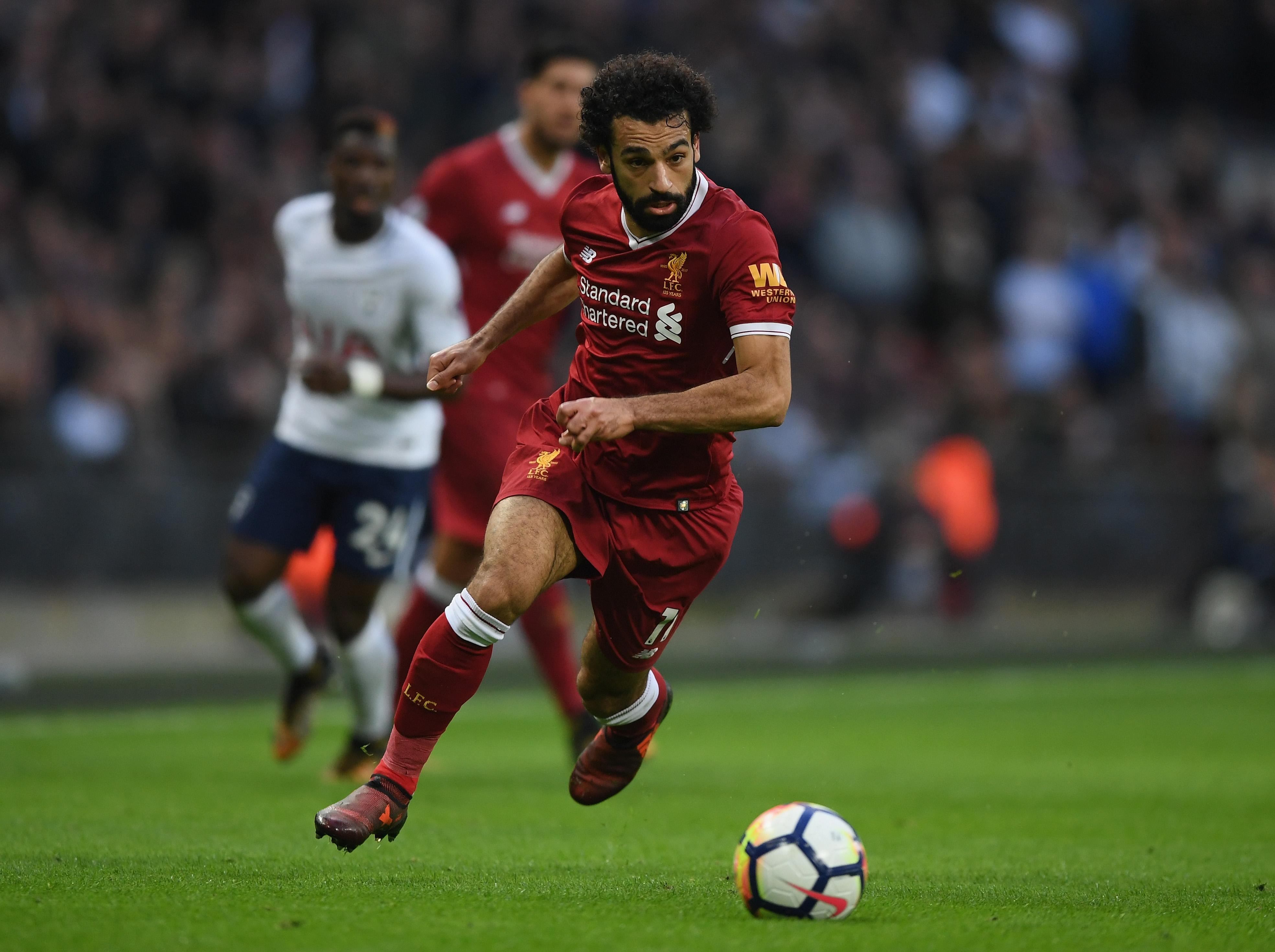 Mohamed Salah Tottenham liverpool
