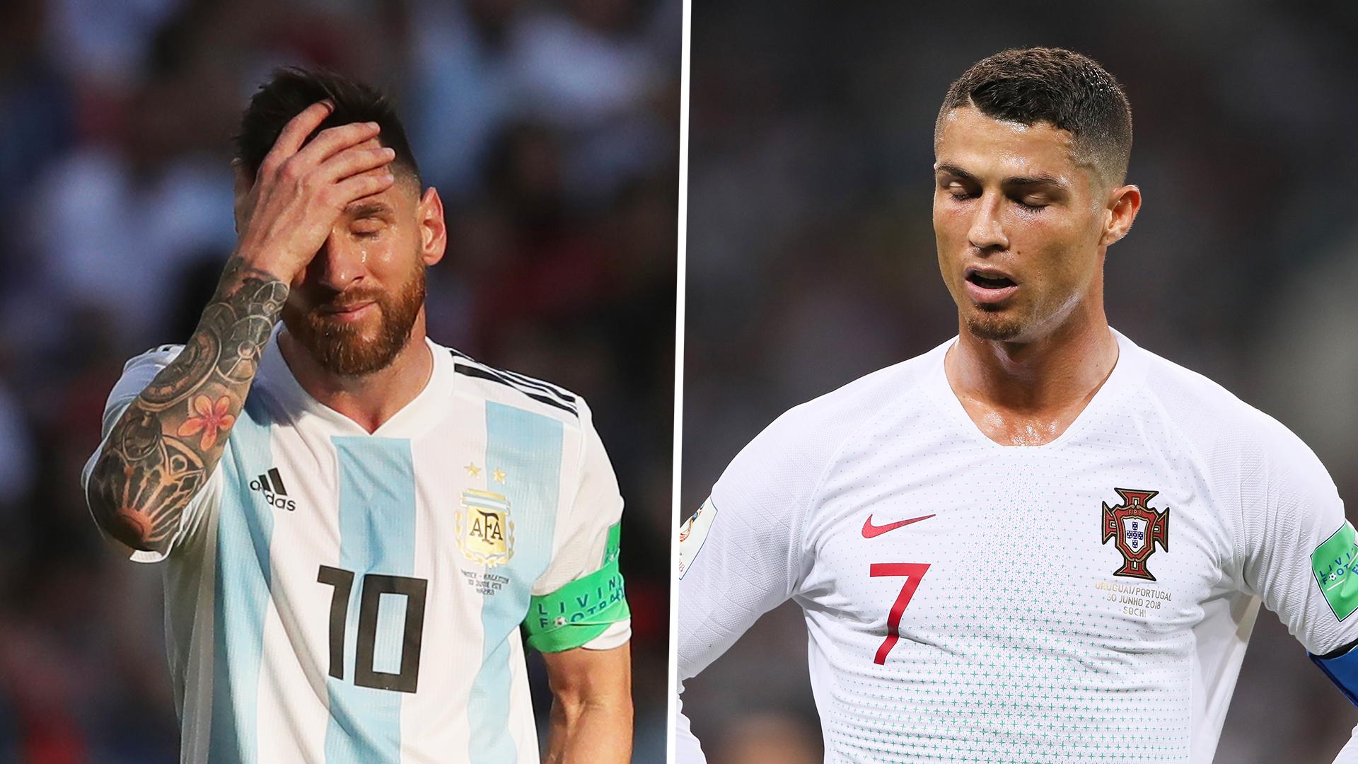 Lionel Messi, Cristiano Ronaldo split
