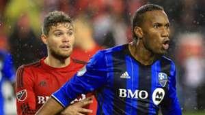 Erik Zavaleta Toronto FC Didier Drogba Montreal Impact 2016