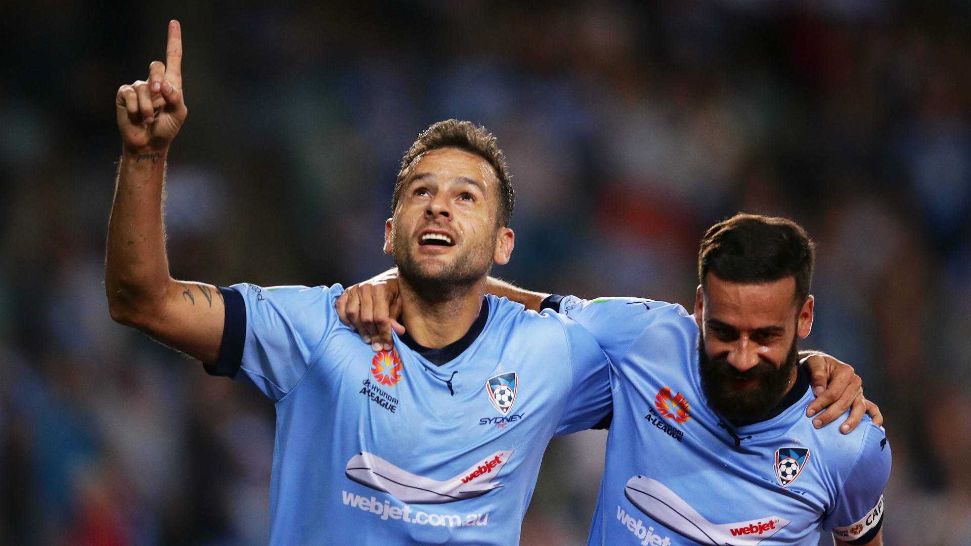 Bobo Sydney FC v Melbourne City A-League 01042017