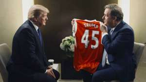 Donald Trump Piers Morgan Arsenal