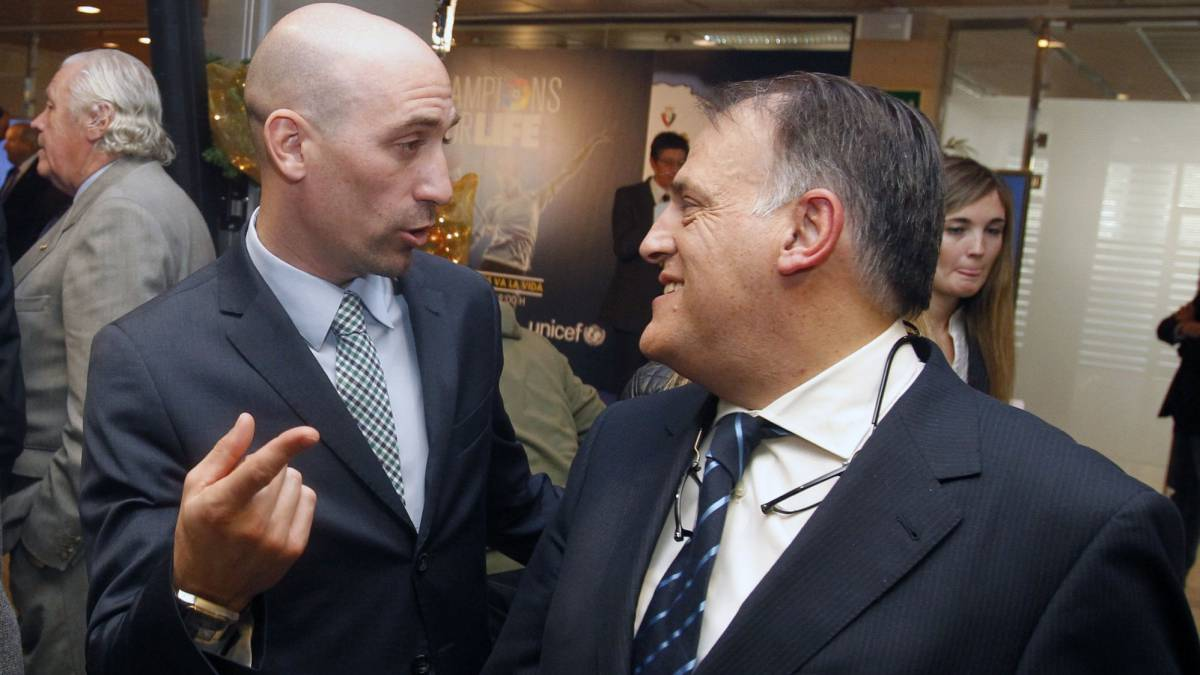 Rubiales and tebas