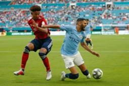 Chris Richards & Riyad Mahrez - Bayern München v Manchester City