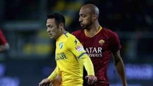 Camillo Ciano Steven Nzonzi Frosinone Roma Serie A