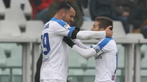 Andrea Petagna Alejandro Gomez Torino Atalanta