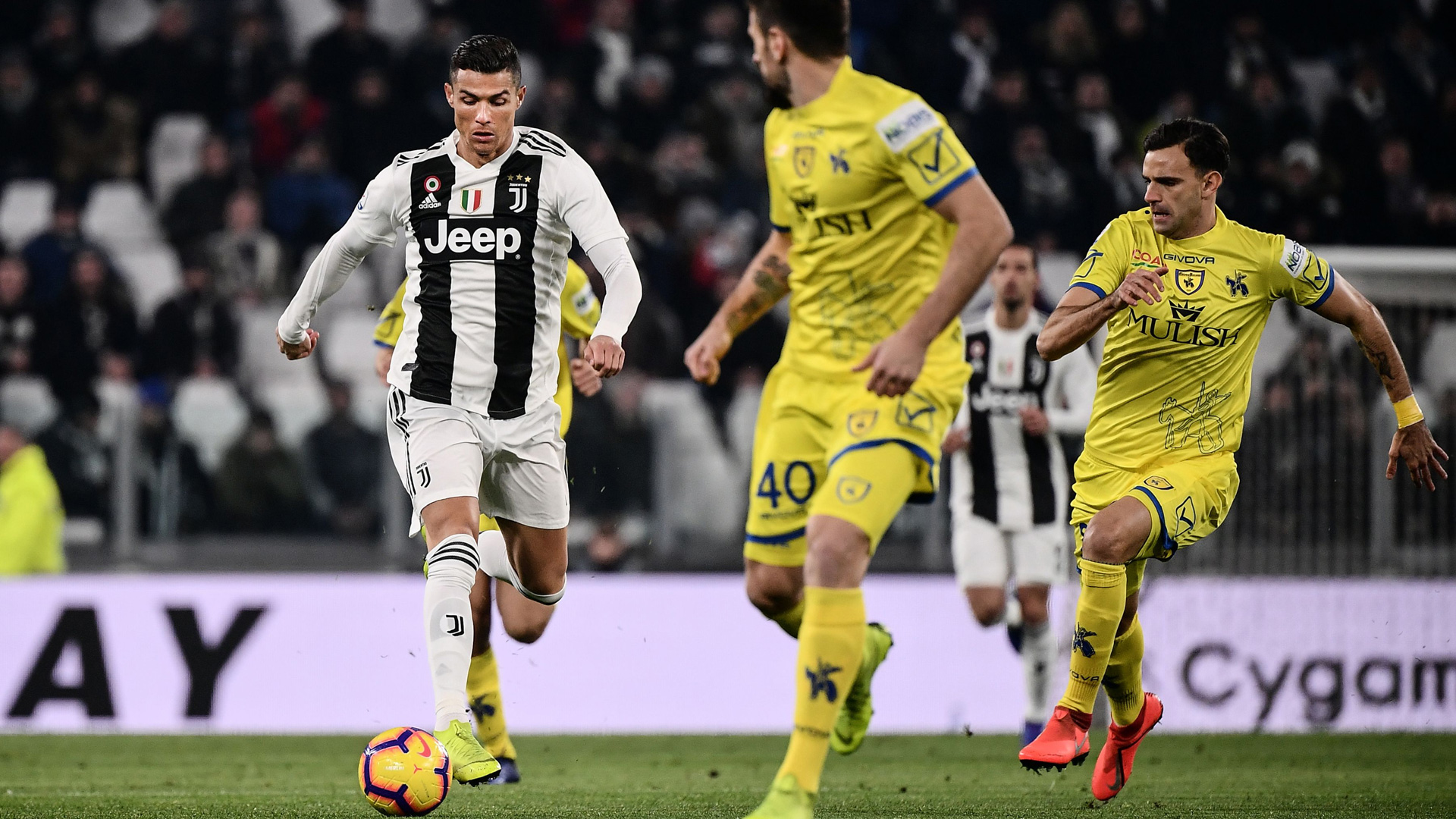Cristiano Ronaldo Juventus Chievo 210119