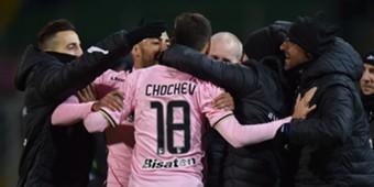 Ivaylo Chochev Palermo Salernitana Serie B