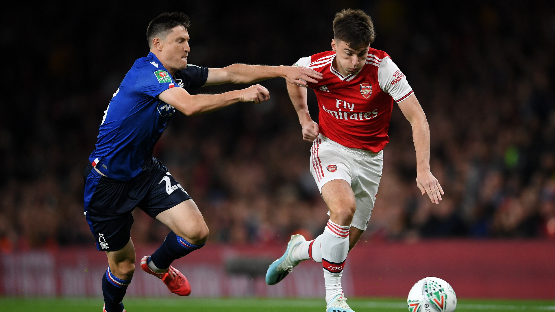 Kieran Tierney, Arsenal vs Nottingham Forest
