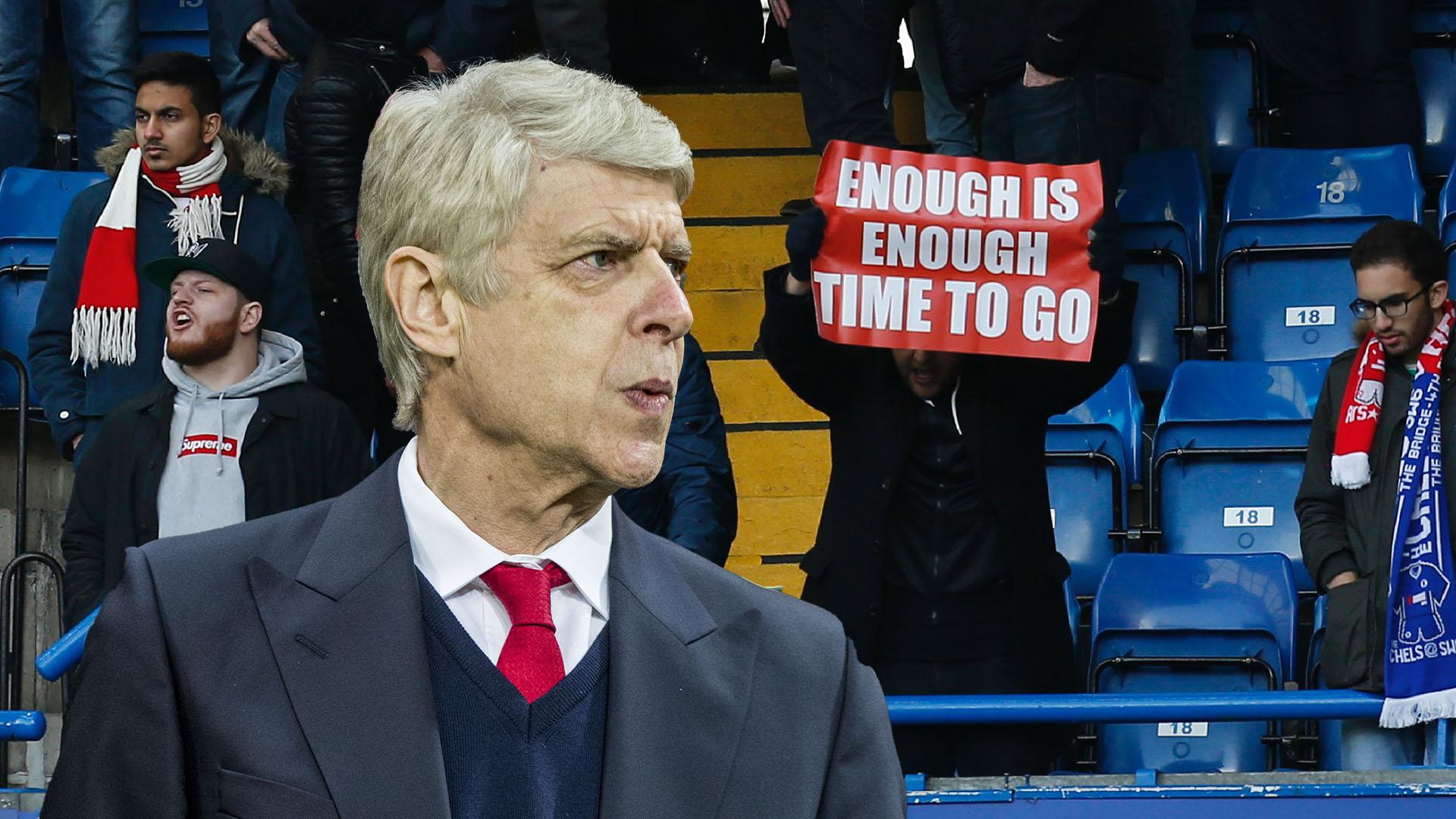 Arsene Wenger out