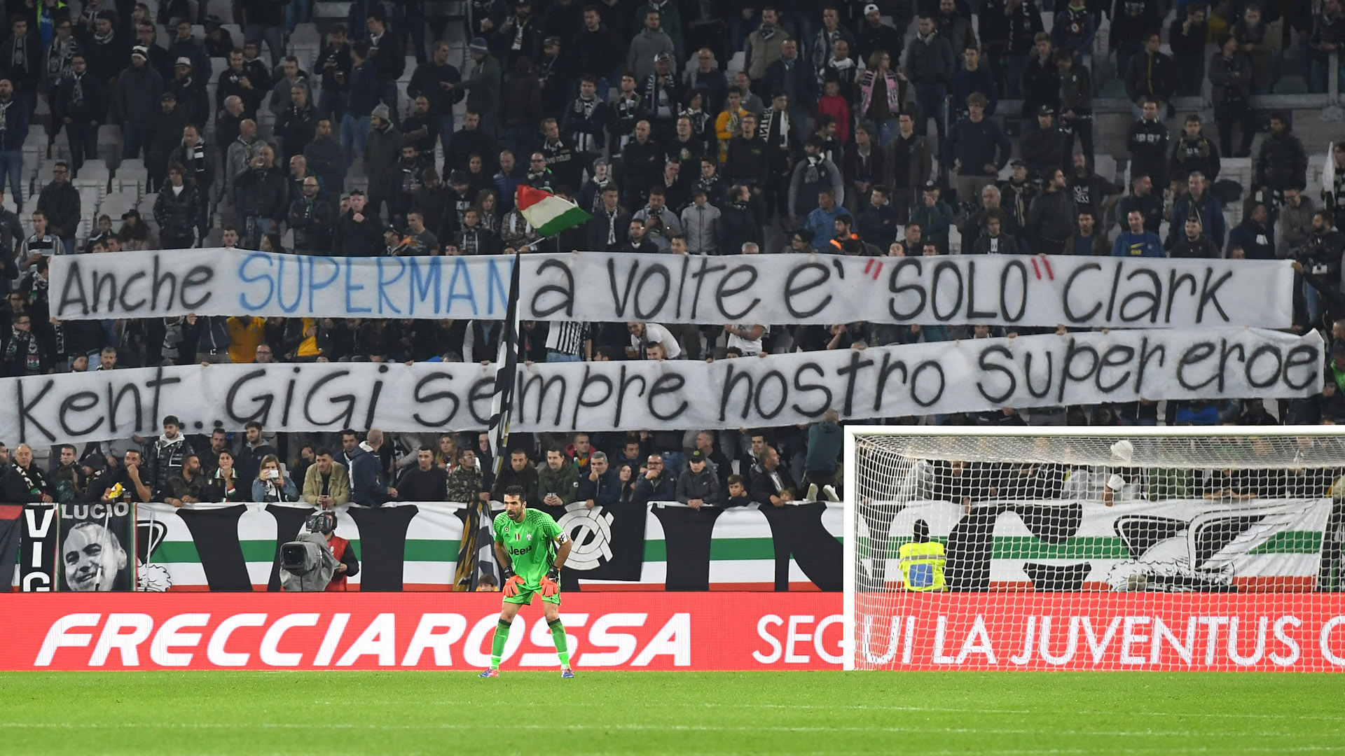 Gianluigi Buffon Superman banner
