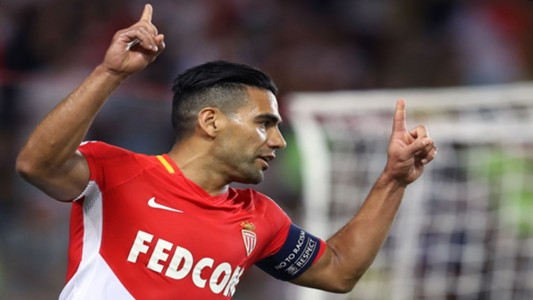 Radamel Falcao Monaco Marseille Ligue 1 27082017