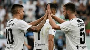 Joao Cancelo Miralem Pjanic Juventus Lazio