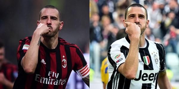 Bonucci Milan Juventus