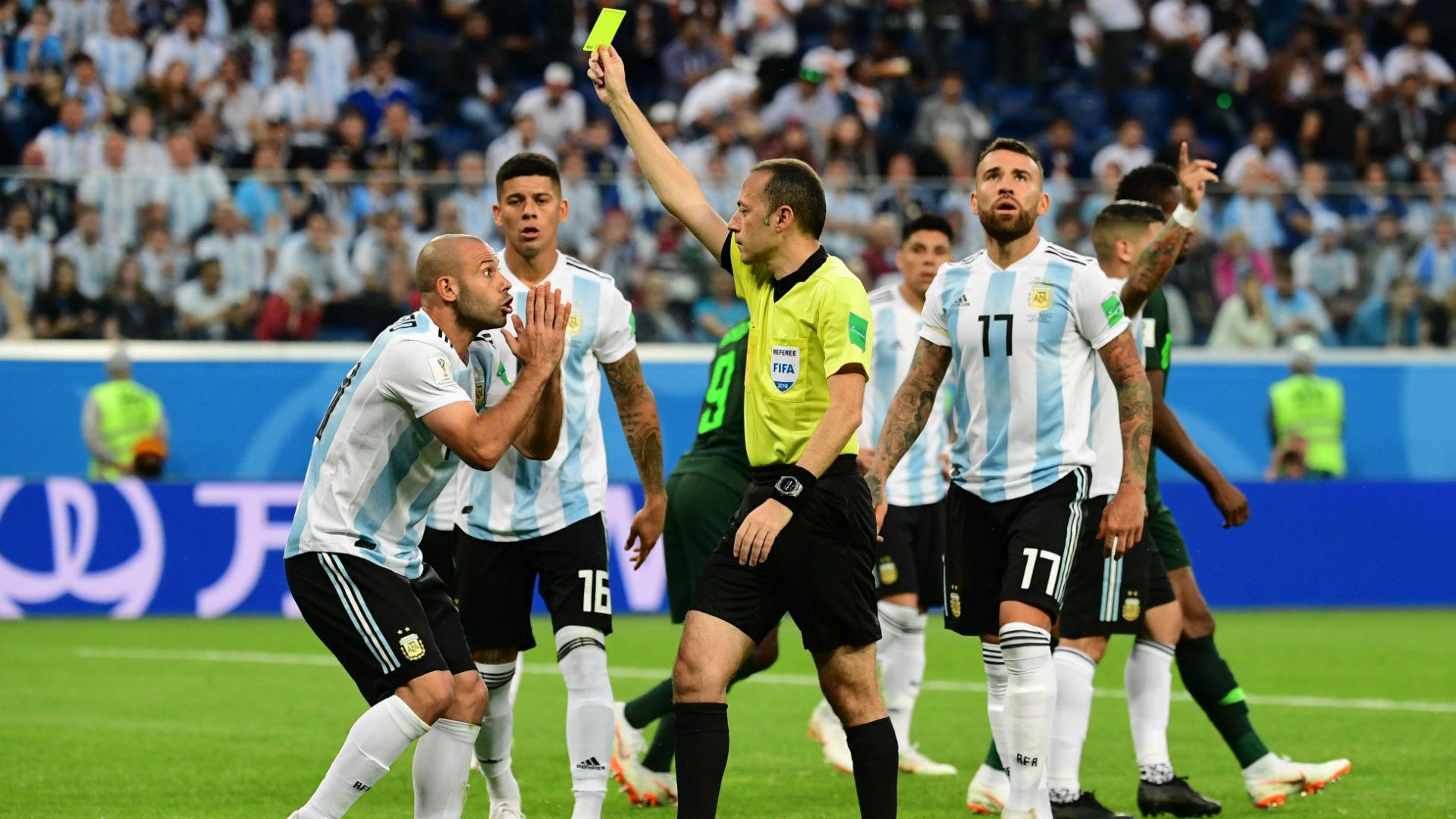 Mascherano Argentina Nigeria World Cup Russi 2018 26062018