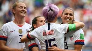 USA Spain Goal Celebration WWC 2019 06242019