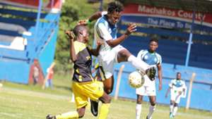 Boniface Muchiri of Tusker v Mike Kibwage of KCB.