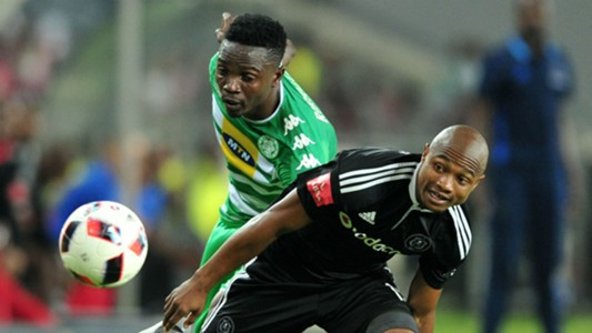 Bloemfontein Celtic, Limbikani Mzava and Orlando Pirates, Thabo Qalinge