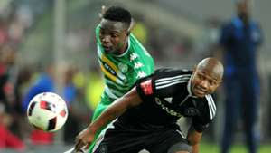 Bloemfontein Celtic, Limbikani Mzava and Orlando Pirates, Thabo Qalinge