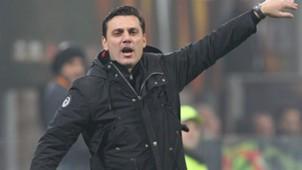 Montella Milan Europa League