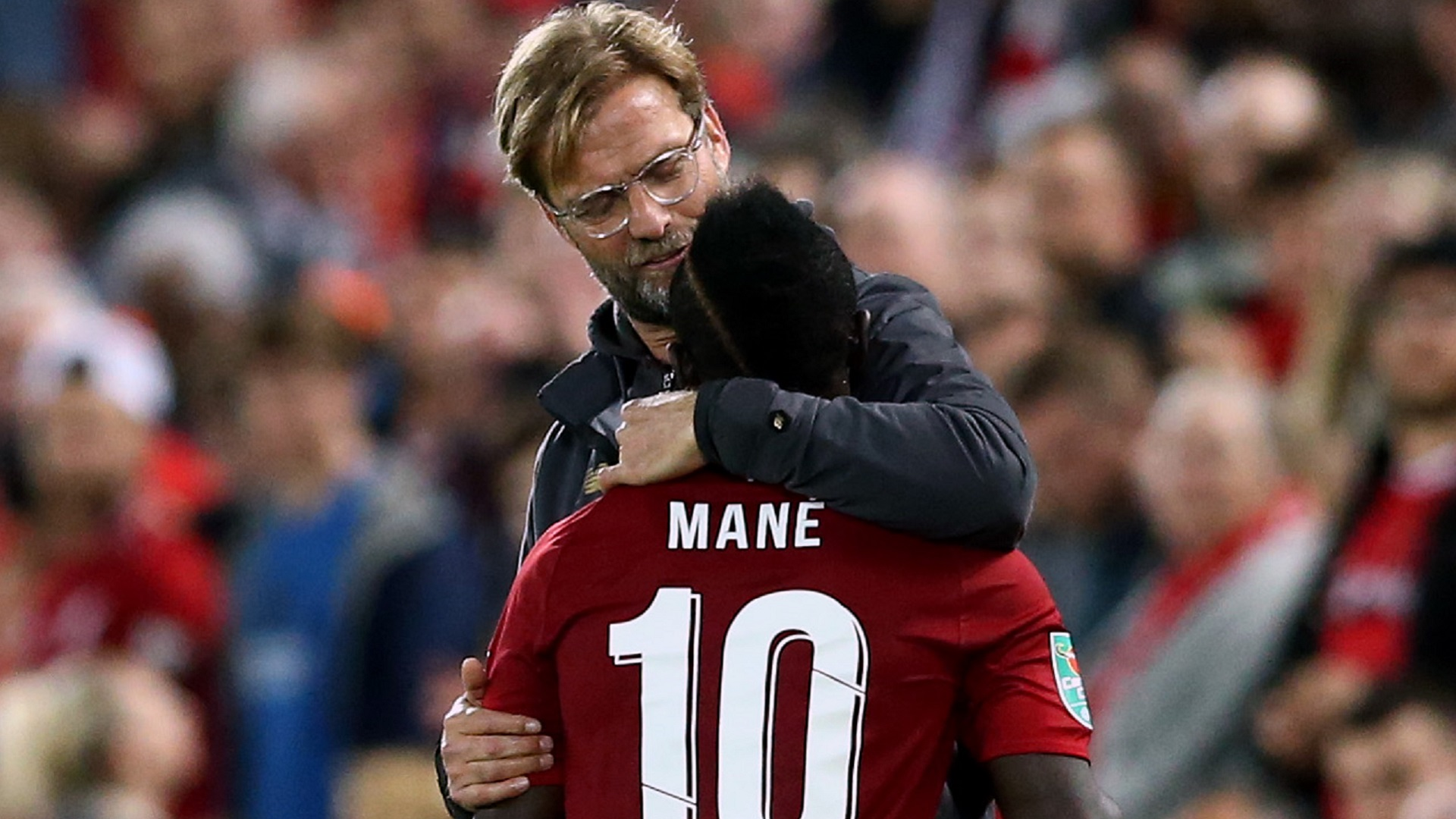 2018-09-29 Mane Klopp Liverpool