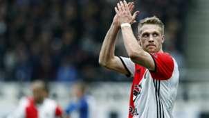 Nicolai Jorgensen, Feyenoord, Eredivisie, 03192017