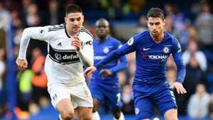 Jorginho Chelsea vs Fulham Premier League 2018-19