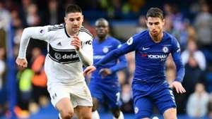 Jorginho Chelsea vs Fulham Premier League 2018-19