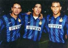Ronaldo Zamorano Baggio Inter