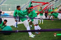 Entrenamiento práctica de Bolivia
