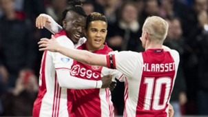 Bertrand Traore, Justin Kluivert, Ajax, Eredivisie, 04052017