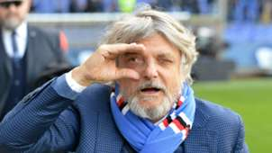 Massimo Ferrero, Sampdoria, Cagliari, Serie A, 02192017