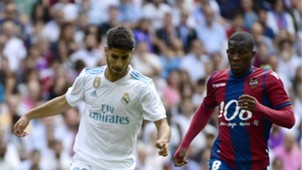 Jefferson Lerma Real Madrid vs Levante 10082017