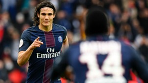 Edinson Cavani PSG Montpellier Ligue 1 22042017