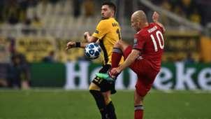 Arjen Robben AEK Athens Bayern