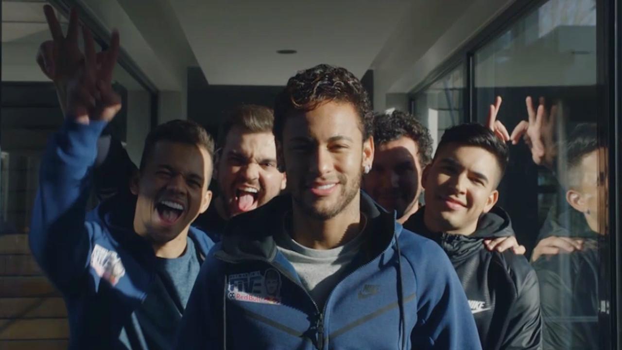 Neymar Jrs Five Print parças