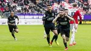 Daniel Crowley FC Utrecht - Willem II Eredivisie 01272019