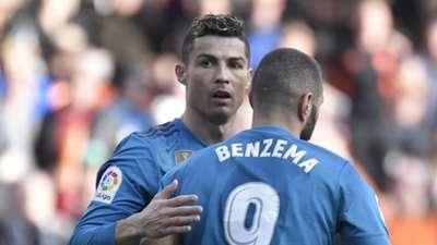 2018-01-28 Ronaldo Benzema REAL MADRID