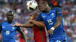 Paul Pogba Joao Mario Portugal France UEFA Euro 10072016