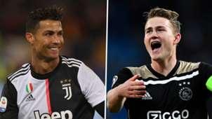 Matthijs De Ligt Cristiano Ronaldo Juventus Ajax