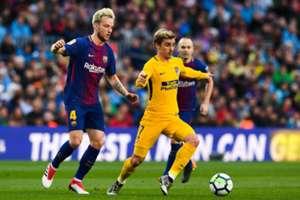 Rakitic Griezmann Barcelona Atletico LaLiga