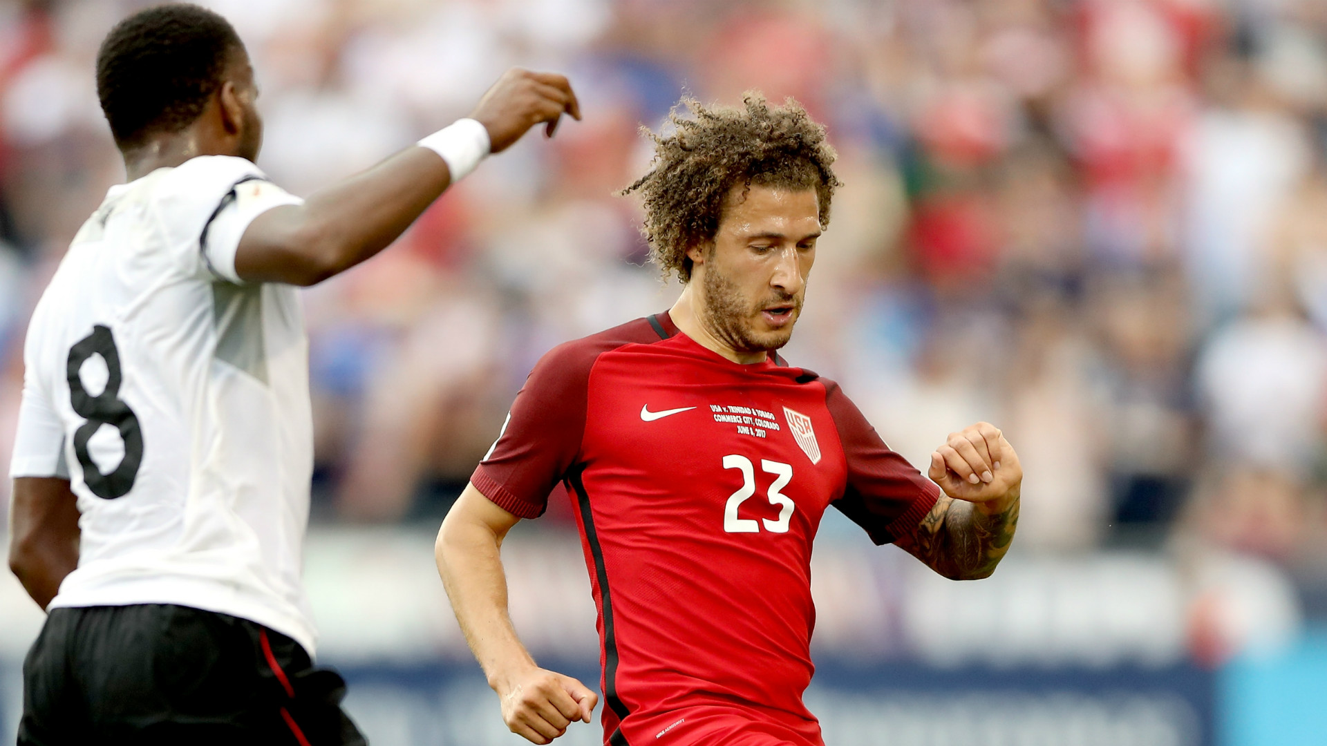 Fabian Johnson USA Trinidad 06082017