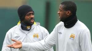 Kolo Toure Yaya Toure Manchester City