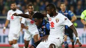 Duvan Zapata, Nicolas NKoulou, Atalanta, Torino, Serie A, 26092018