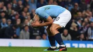 Sergio Aguero Manchester City Spurs