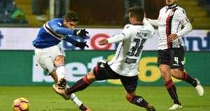 Ricky Alvarez Sampdoria Cagliari Coppa Italia