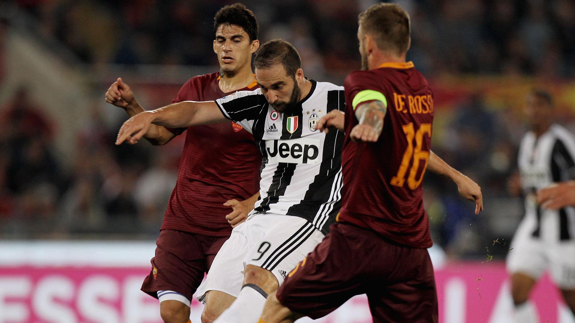 Gonzalo Higuain Roma Juventus Serie A