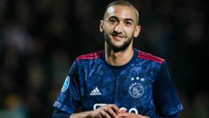 Hakim Ziyech, Ajax, Eredivisie 10282017