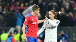 Jaka Bijol Luka Modric CSKA Real Madrid Champions League